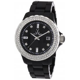 ToyWatch Plasteramic Black Ladies Watch ~ PCLS21BK