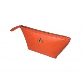 Vivienne Westwood Balmoral Beauty Case - Orange ~ 35095-ORN