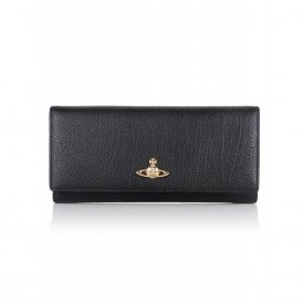 Vivienne Westwood Balmoral Credit Card Holder - Black ~ 321510-BLK