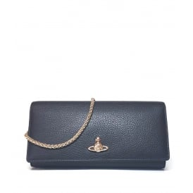 Vivienne Westwood Balmoral Long Wallet With Chain - Black ~ 51030008