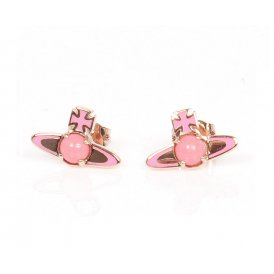 Vivienne Westwood Betsy Rose Gold Earrings ~ BE449/16