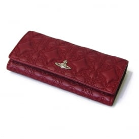 Vivienne Westwood Coventry Credit Card Holder - Bordeaux ~ 321531-BOR