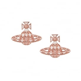 Vivienne Westwood Harlequin Earrings - Rose Gold ~ 725004B/3