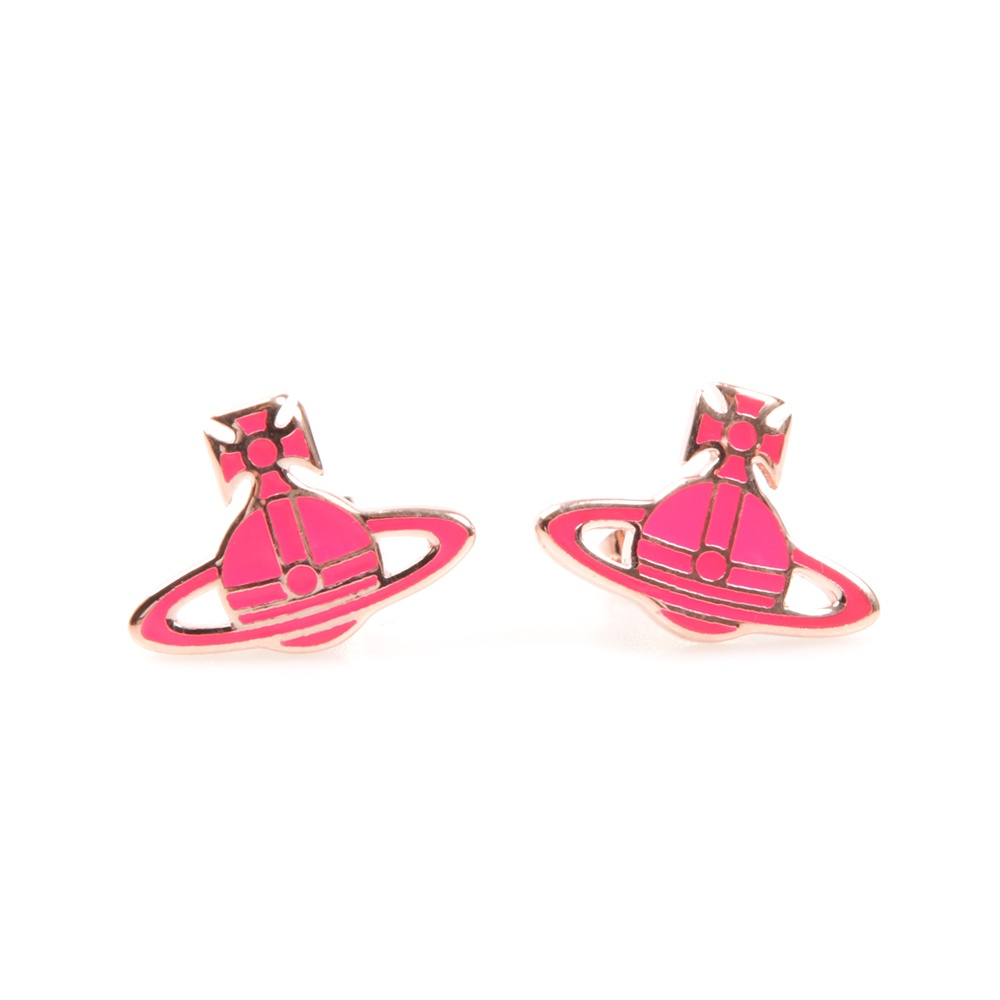 earring pink cutout teardrop products neon large southern earrings cactus shop with bling