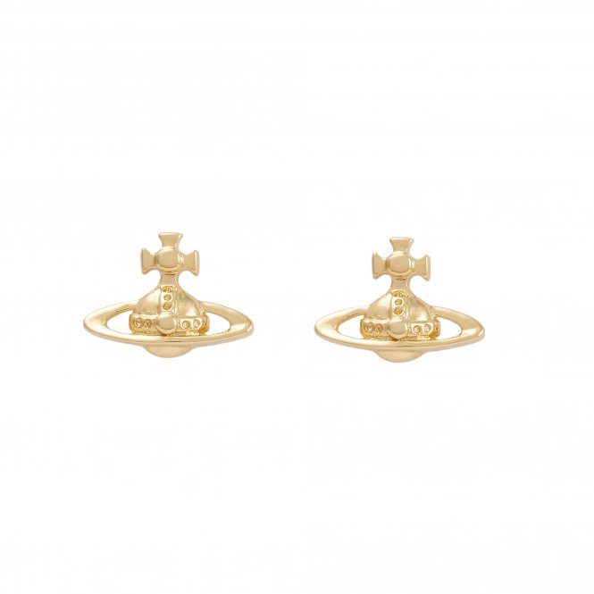 Vivienne Westwood Lorelei Stud Earrings - Gold ~ BE1177/2