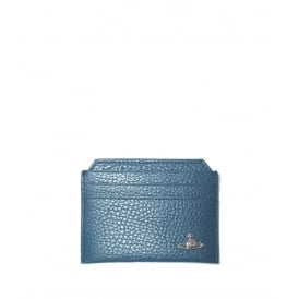 Vivienne Westwood Milano Credit Card Holder - Blue ~ 51110022