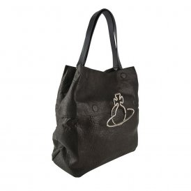 Vivienne Westwood Oxford Tote Bag - Black ~ 131228-BLK