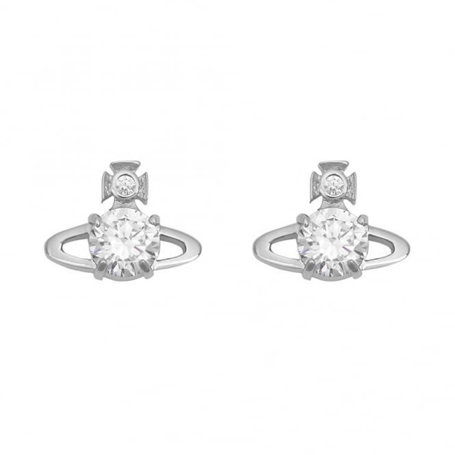 Vivienne Westwood Reina Earrings - Rhodium ~ BE1400/1