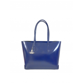 Vivienne Westwood Sarah Large Shopper - Blue ~ 42030001