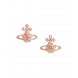 Vivienne Westwood Simone Bas Relief Earrings - Rose Gold ~ BE1154/3