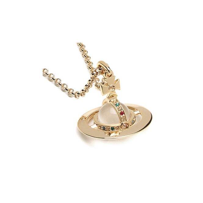 Vivienne Westwood Small Orb Pendant - Gold ~ 1465/14/01