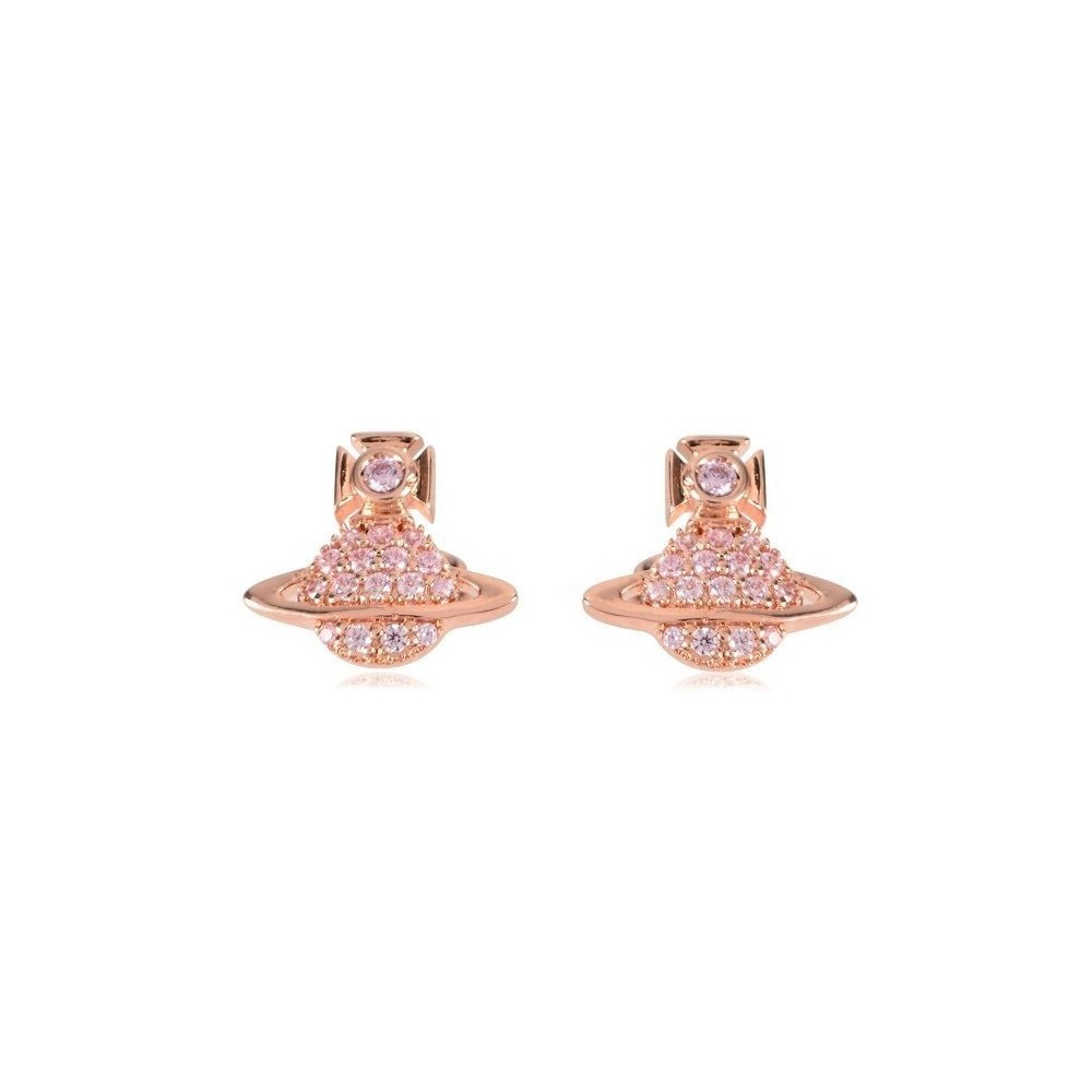 5767f18e98b Vivienne Westwood Tamia Earrings - Rose Gold ~ BE623000/3