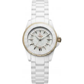 Vivienne Westwood Knightsbridge II Ladies White Watch VV088RSWH