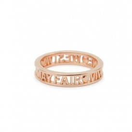 Vivienne Westwood Westminster Ring - Rose Gold - Large ~ SR1212/3-L