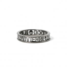 Vivienne Westwood Westminster Ring - Ruthenium - Large ~ SR1212/4-L